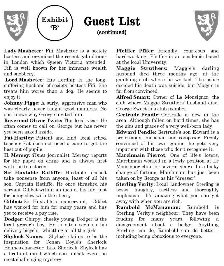 The Last Gasp guest list Page 2