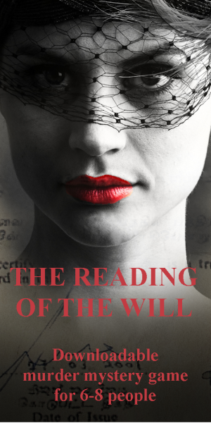 The Reading of the Will banner 300x600